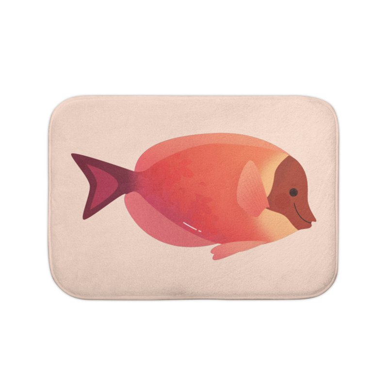 Surgeonfish Home Bath Mat by theladyernestember's Artist Shop