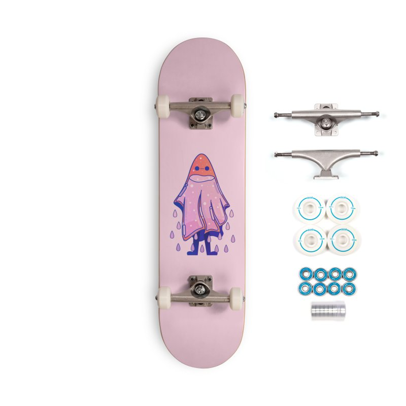 Ghost Accessories Complete - Basic Skateboard by theladyernestember's Artist Shop