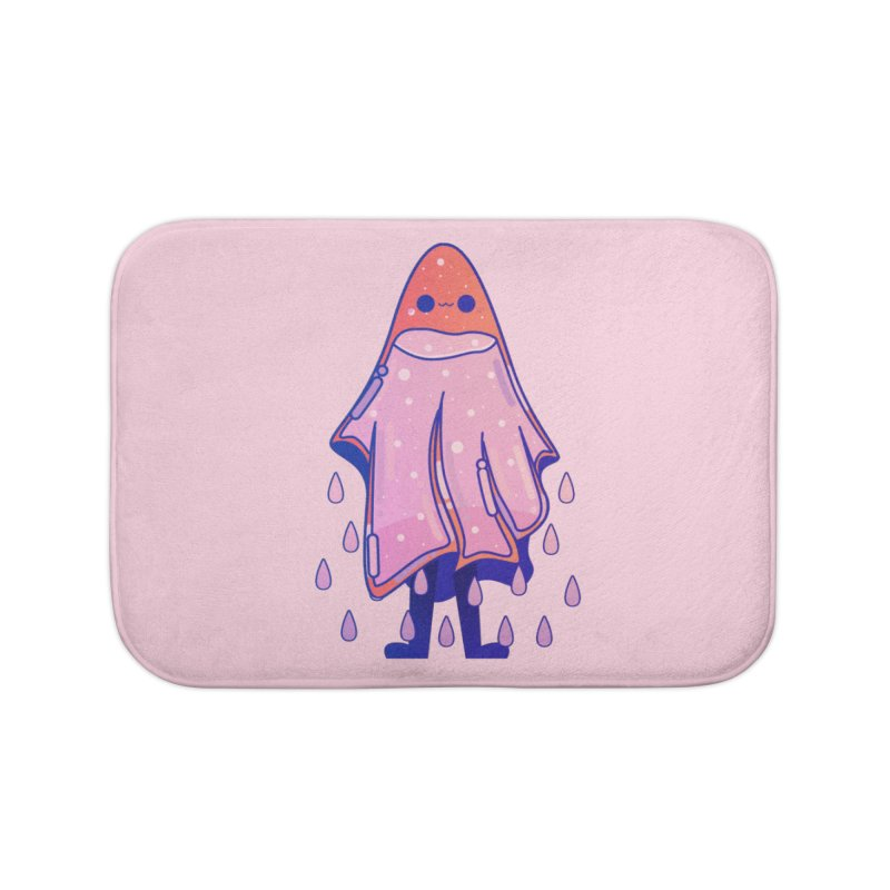 Ghost Home Bath Mat by theladyernestember's Artist Shop