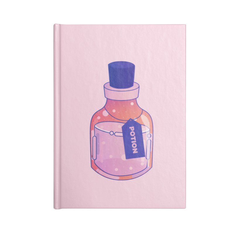Potion Accessories Lined Journal Notebook by theladyernestember's Artist Shop