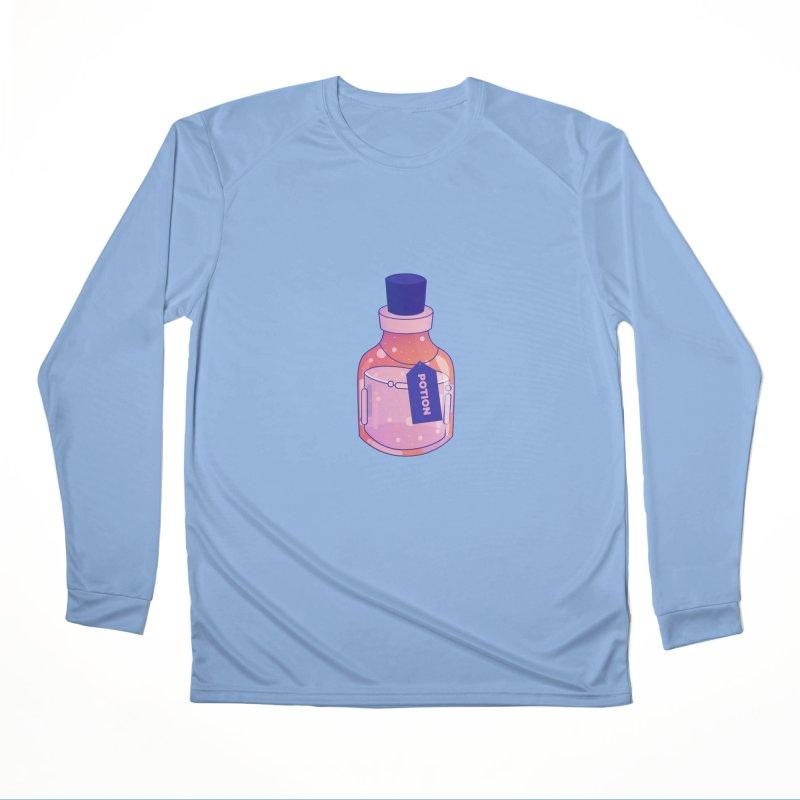 Potion Men's Performance Longsleeve T-Shirt by theladyernestember's Artist Shop