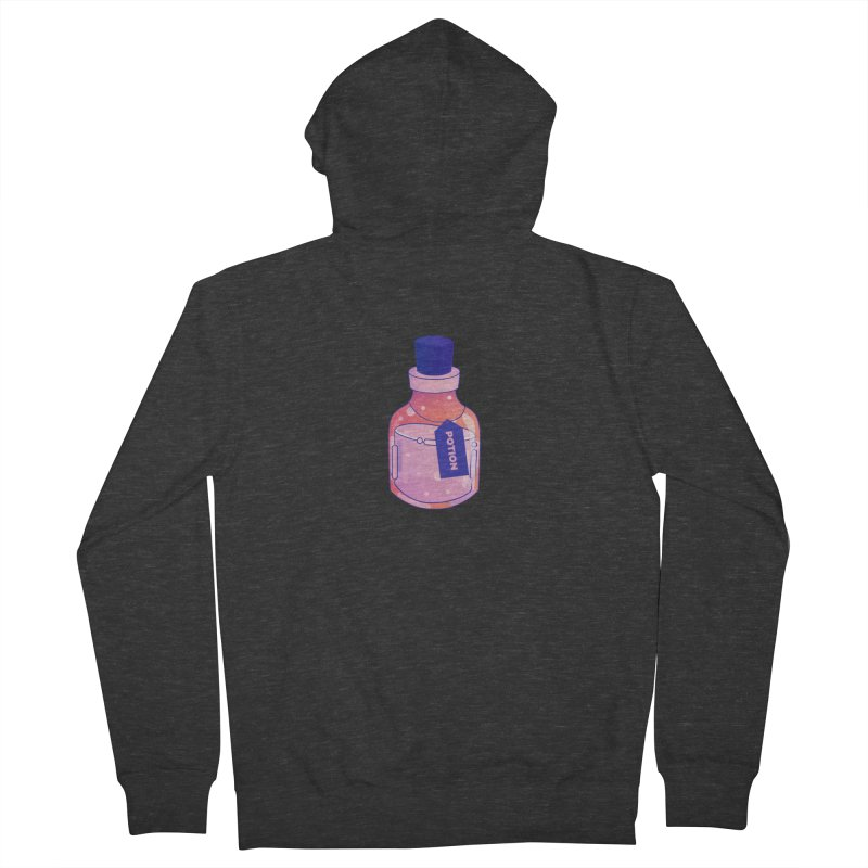 Potion Men's French Terry Zip-Up Hoody by theladyernestember's Artist Shop