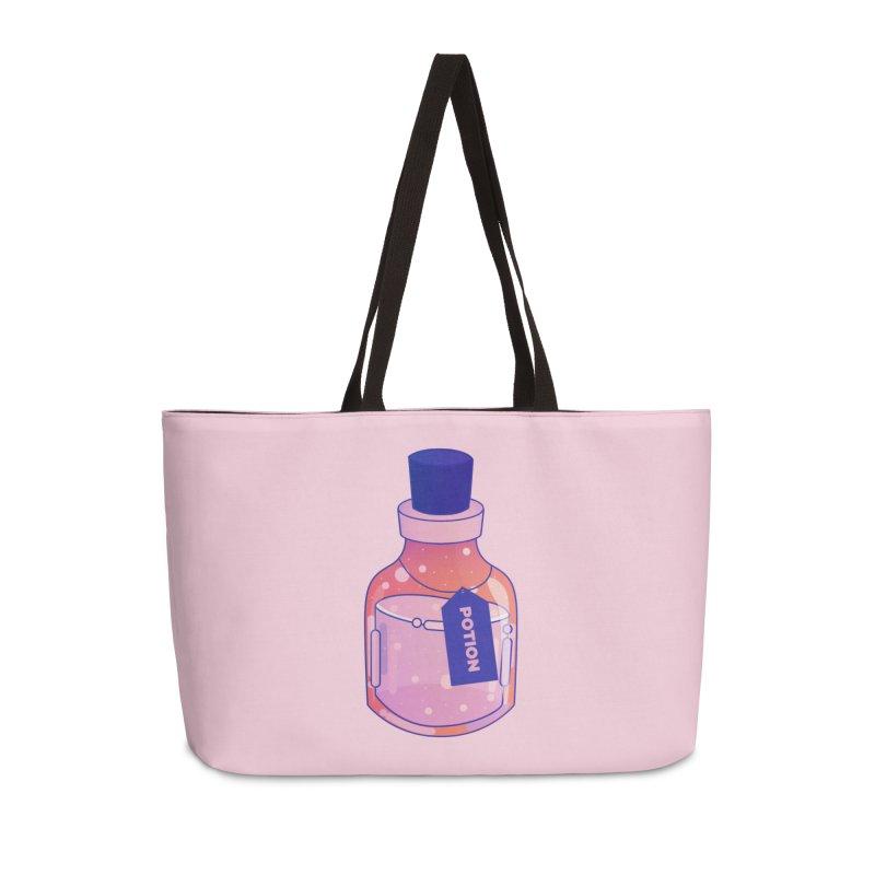 Potion Accessories Weekender Bag Bag by theladyernestember's Artist Shop