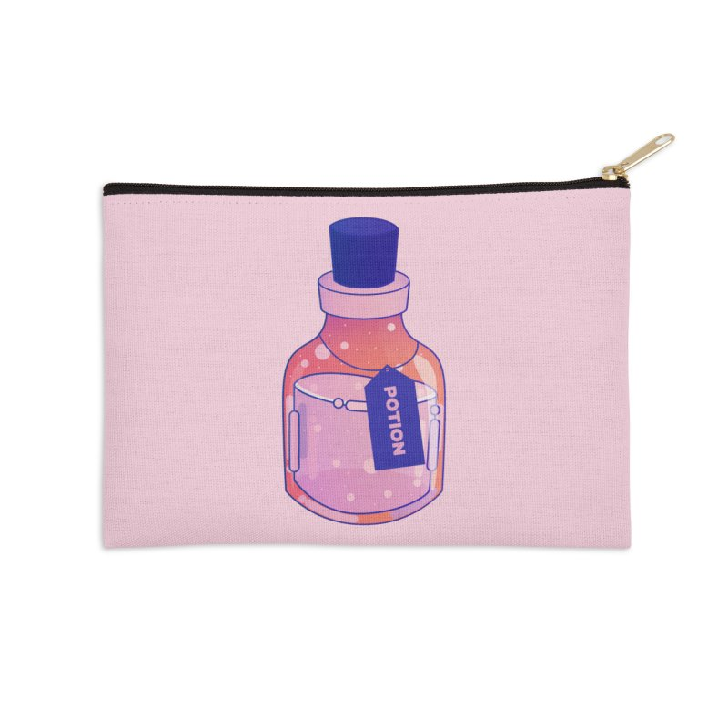 Potion Accessories Zip Pouch by theladyernestember's Artist Shop