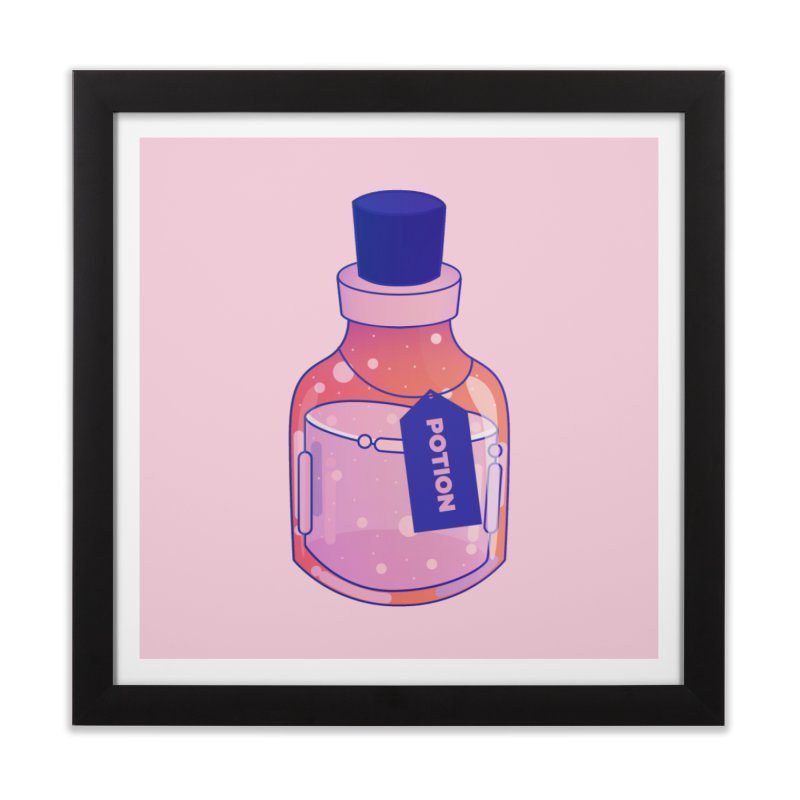 Potion Home Framed Fine Art Print by theladyernestember's Artist Shop