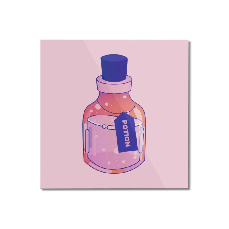 Potion Home Mounted Acrylic Print by theladyernestember's Artist Shop