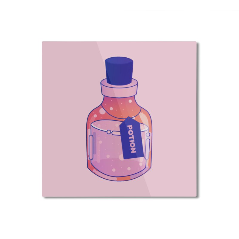 Potion Home Mounted Aluminum Print by theladyernestember's Artist Shop