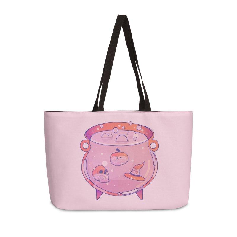 Cauldron Accessories Weekender Bag Bag by theladyernestember's Artist Shop