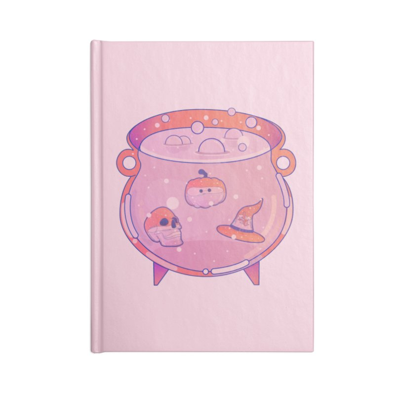 Cauldron Accessories Lined Journal Notebook by theladyernestember's Artist Shop