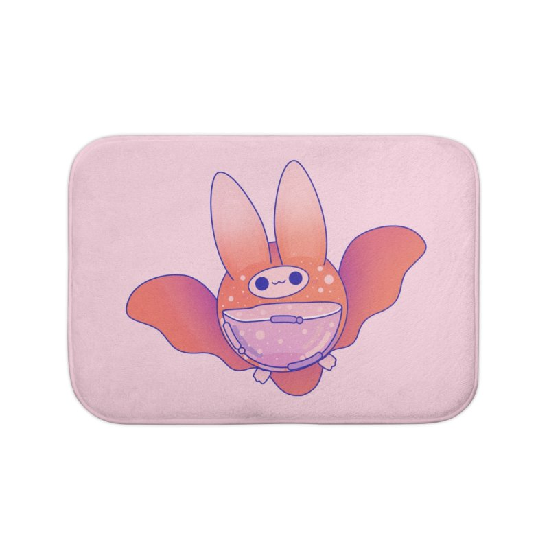 Bat Home Bath Mat by theladyernestember's Artist Shop