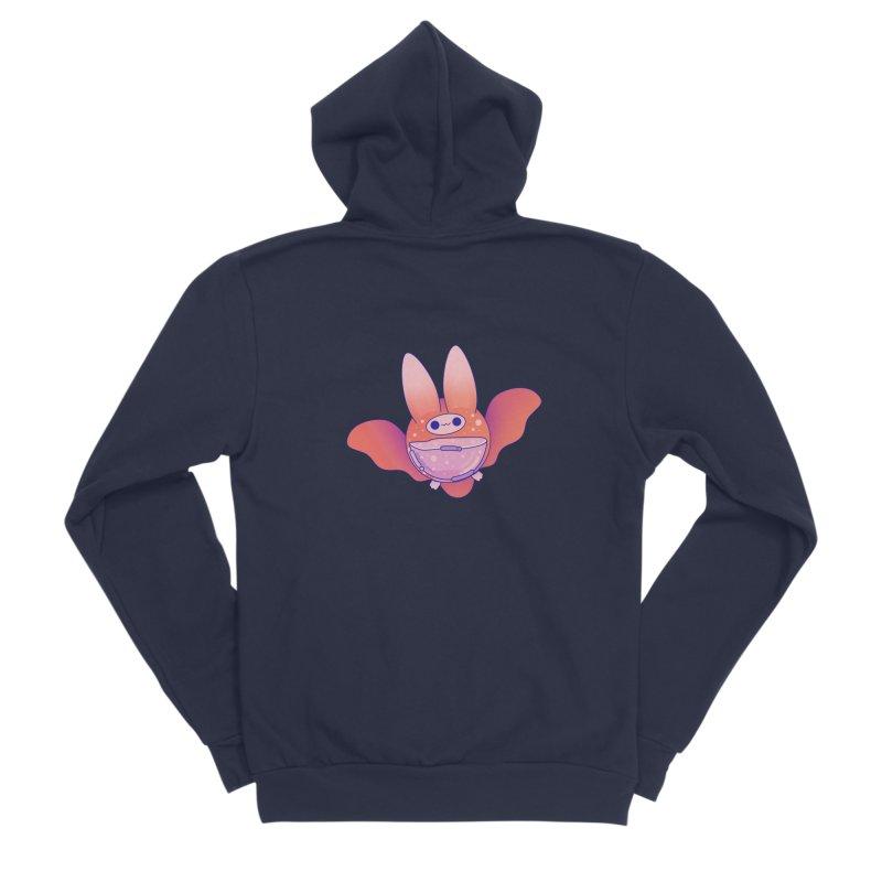 Bat Men's Sponge Fleece Zip-Up Hoody by theladyernestember's Artist Shop