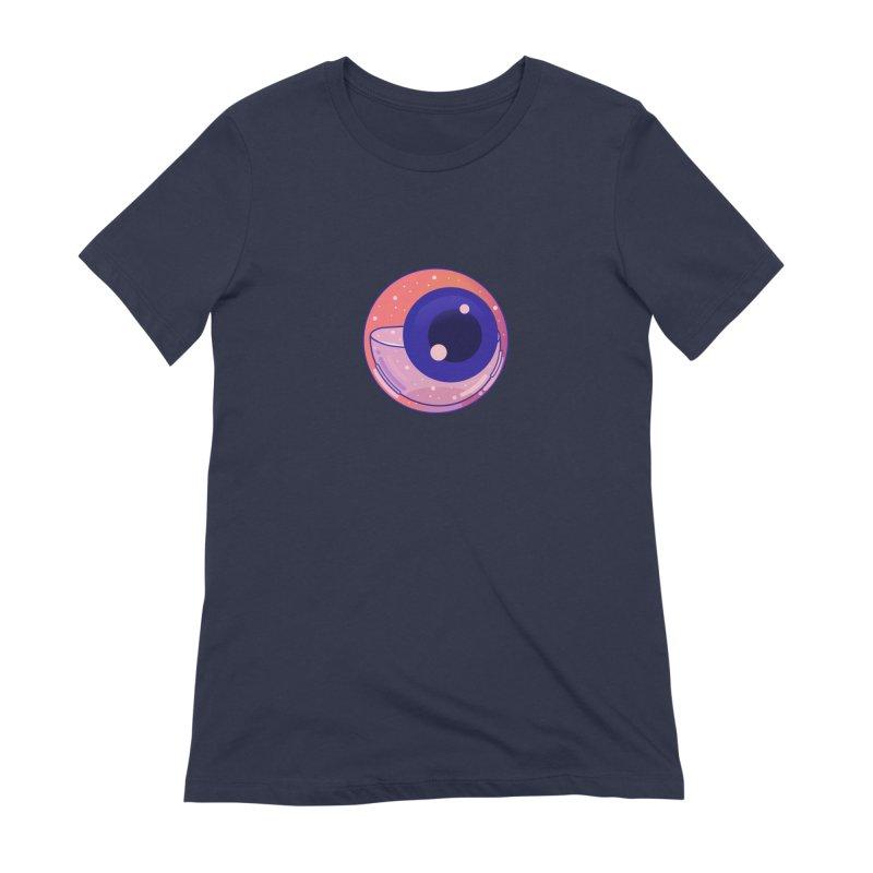 Eyeball Women's Extra Soft T-Shirt by theladyernestember's Artist Shop