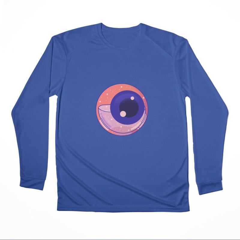 Eyeball Men's Performance Longsleeve T-Shirt by theladyernestember's Artist Shop