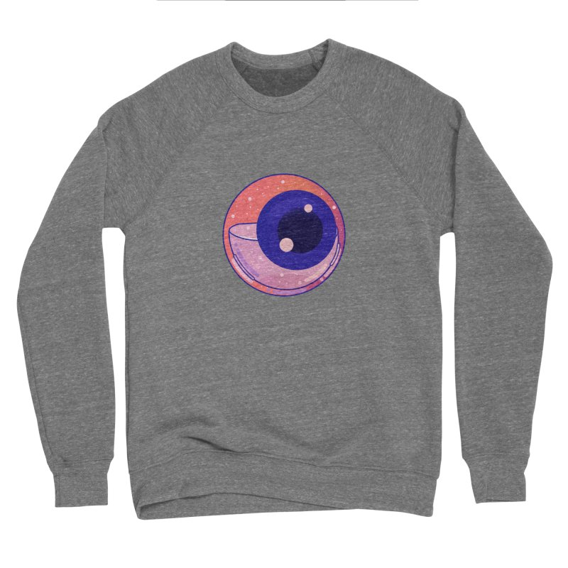 Eyeball Men's Sponge Fleece Sweatshirt by theladyernestember's Artist Shop