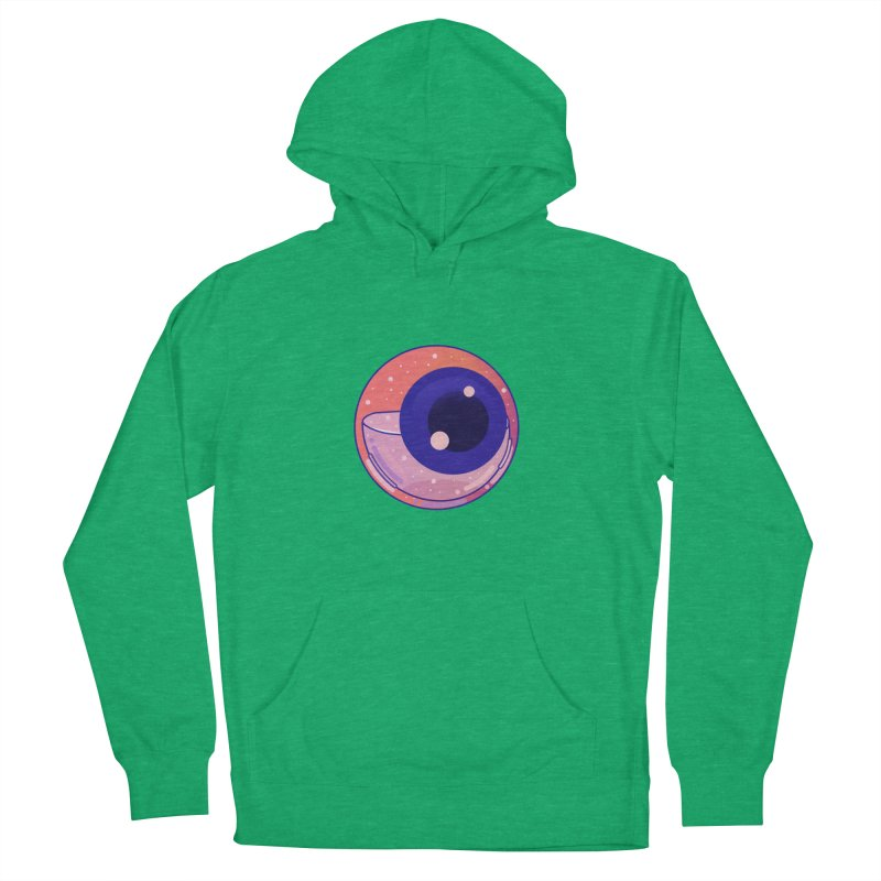 Eyeball Women's French Terry Pullover Hoody by theladyernestember's Artist Shop