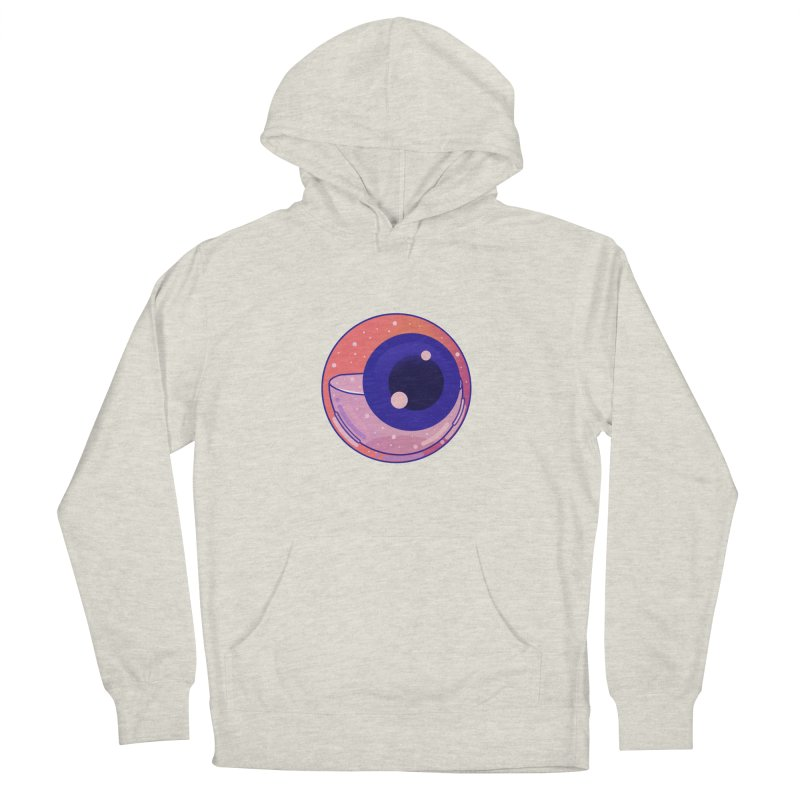 Eyeball Men's French Terry Pullover Hoody by theladyernestember's Artist Shop