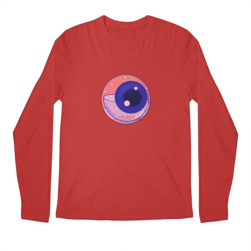 Eyeball Men's Regular Longsleeve T-Shirt by theladyernestember's Artist Shop