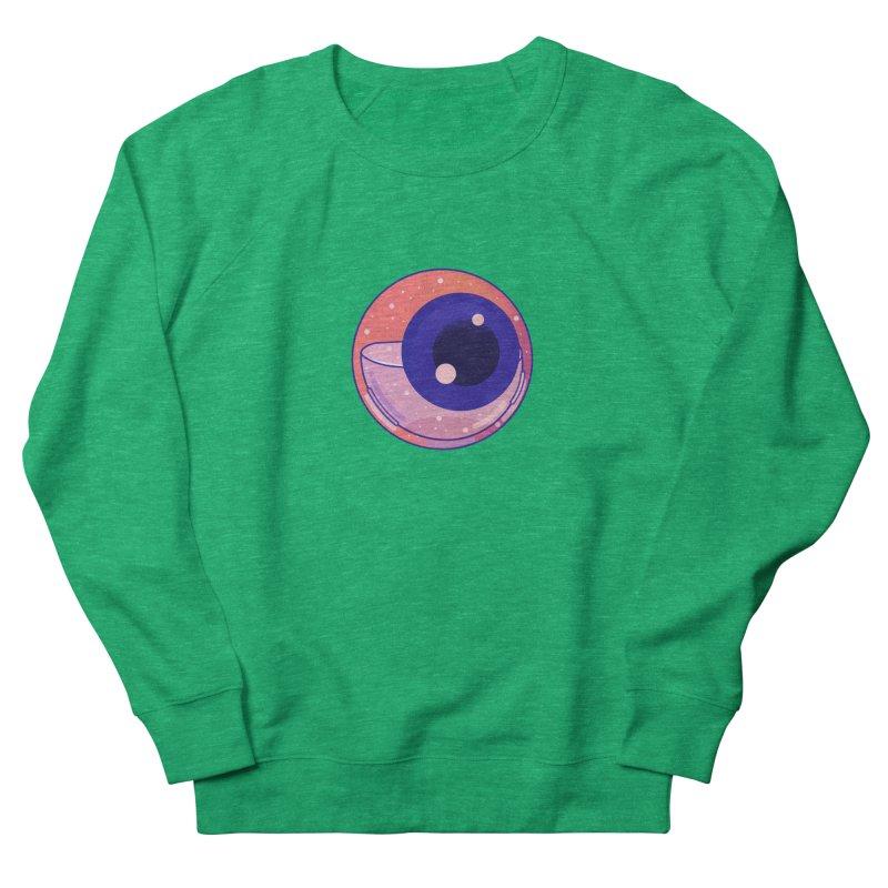 Eyeball Men's French Terry Sweatshirt by theladyernestember's Artist Shop