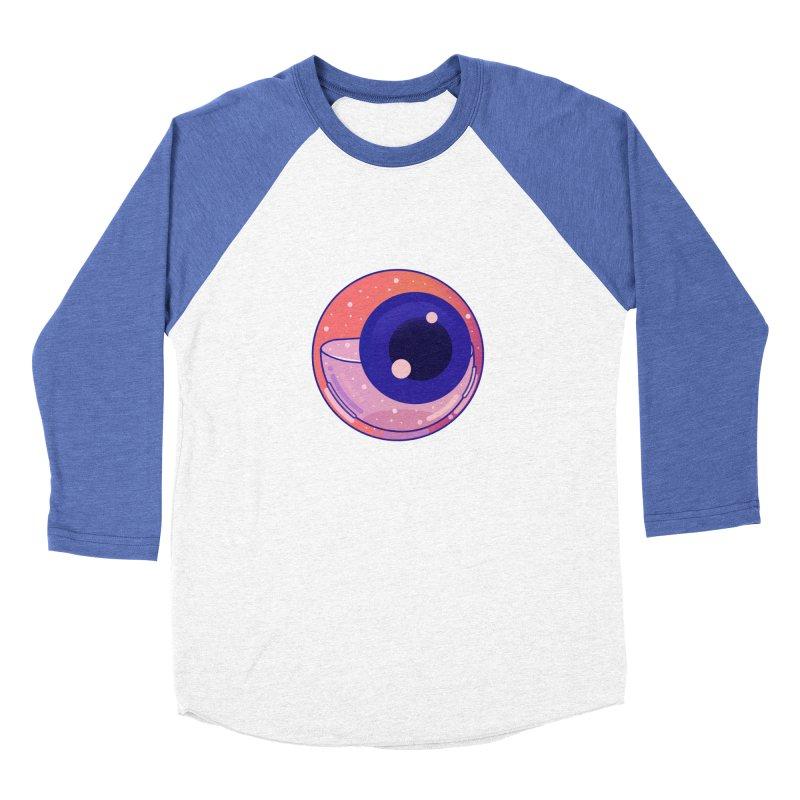 Eyeball Women's Baseball Triblend Longsleeve T-Shirt by theladyernestember's Artist Shop