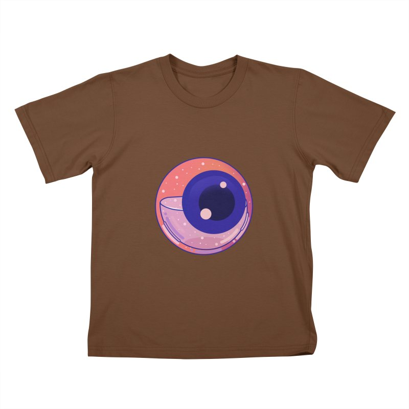Eyeball Kids T-Shirt by theladyernestember's Artist Shop