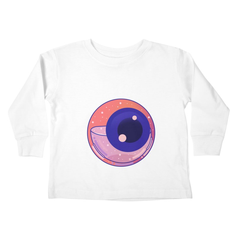 Eyeball Kids Toddler Longsleeve T-Shirt by theladyernestember's Artist Shop