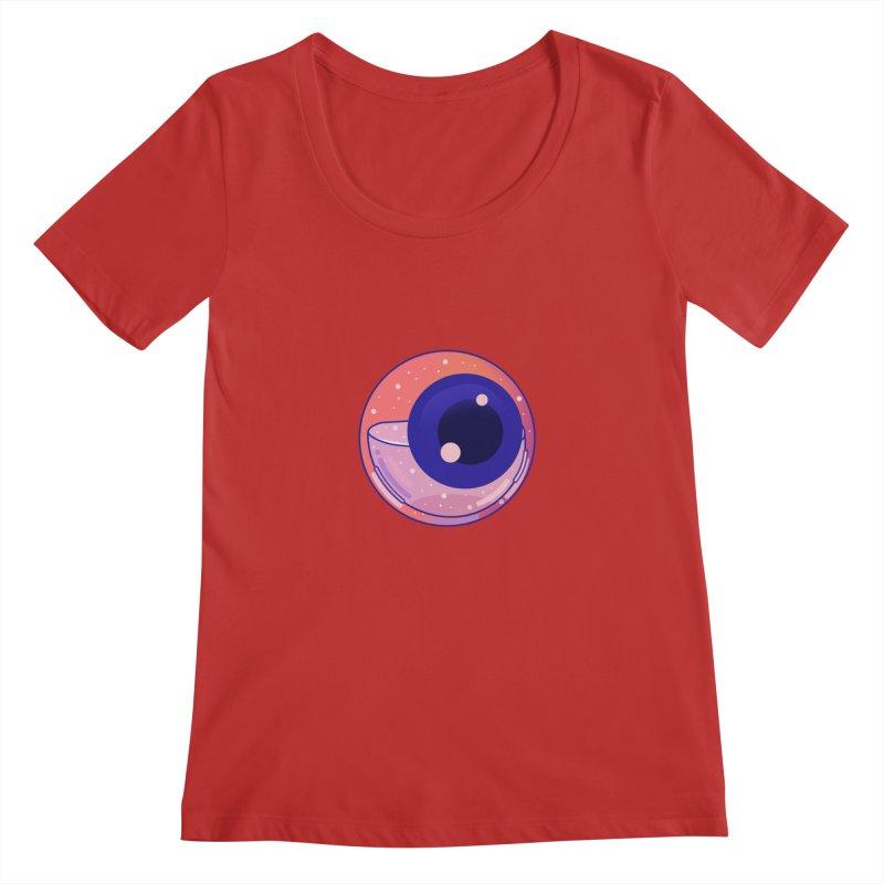 Eyeball Women's Regular Scoop Neck by theladyernestember's Artist Shop