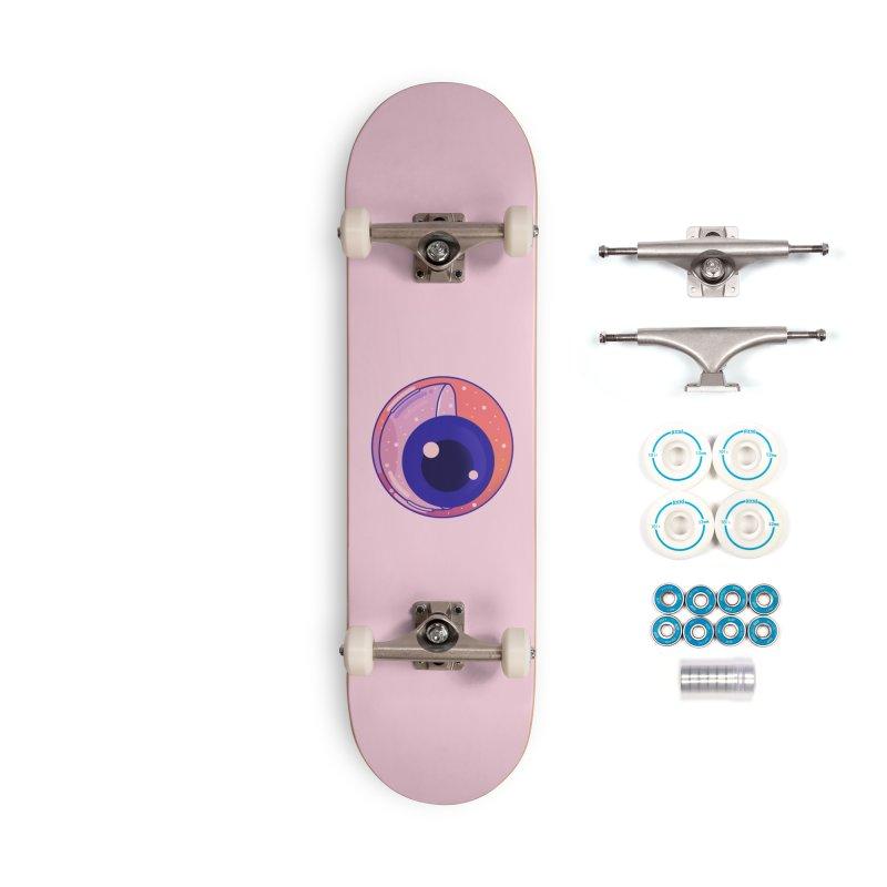 Eyeball Accessories Complete - Basic Skateboard by theladyernestember's Artist Shop