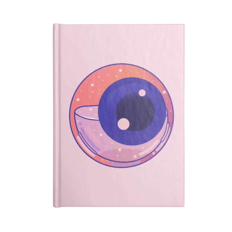 Eyeball Accessories Lined Journal Notebook by theladyernestember's Artist Shop