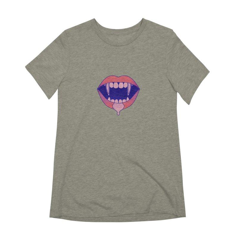 Teeth Women's Extra Soft T-Shirt by theladyernestember's Artist Shop
