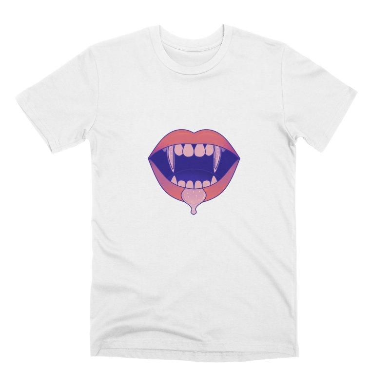 Teeth Men's Premium T-Shirt by theladyernestember's Artist Shop