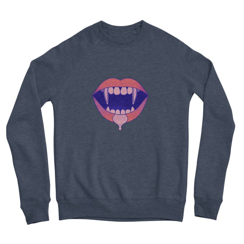 Teeth Men's Sponge Fleece Sweatshirt by theladyernestember's Artist Shop