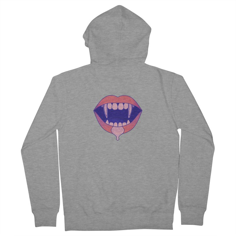 Teeth Men's French Terry Zip-Up Hoody by theladyernestember's Artist Shop