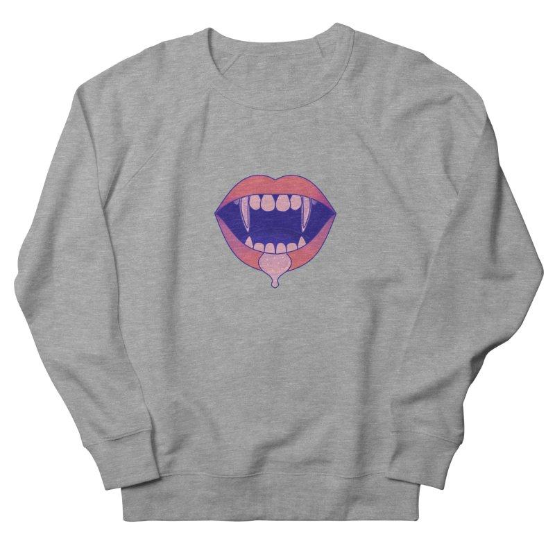 Teeth Women's French Terry Sweatshirt by theladyernestember's Artist Shop