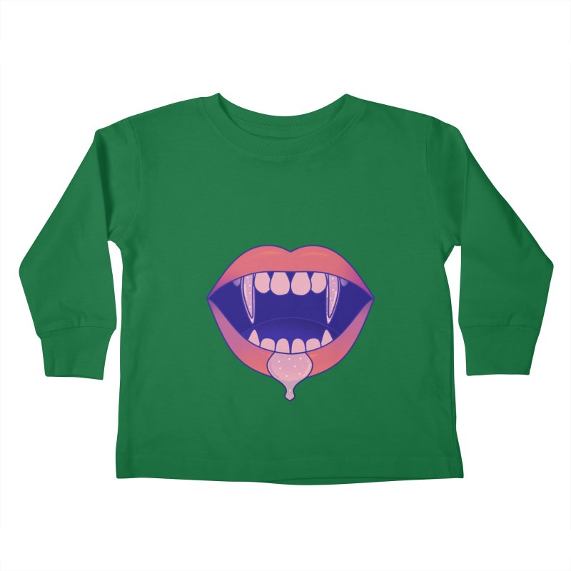 Teeth Kids Toddler Longsleeve T-Shirt by theladyernestember's Artist Shop