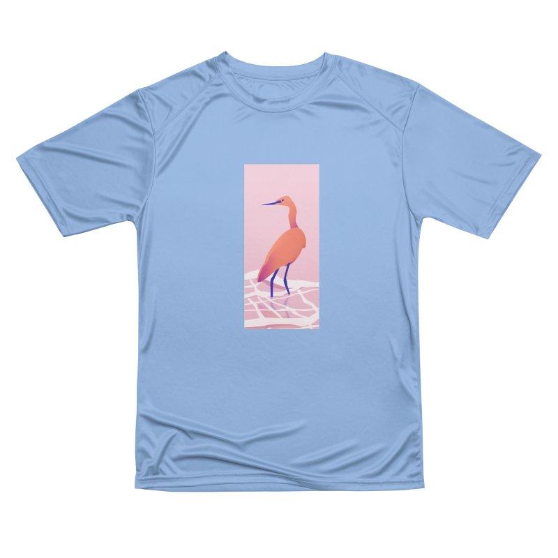 Heron Women's Performance Unisex T-Shirt by theladyernestember's Artist Shop