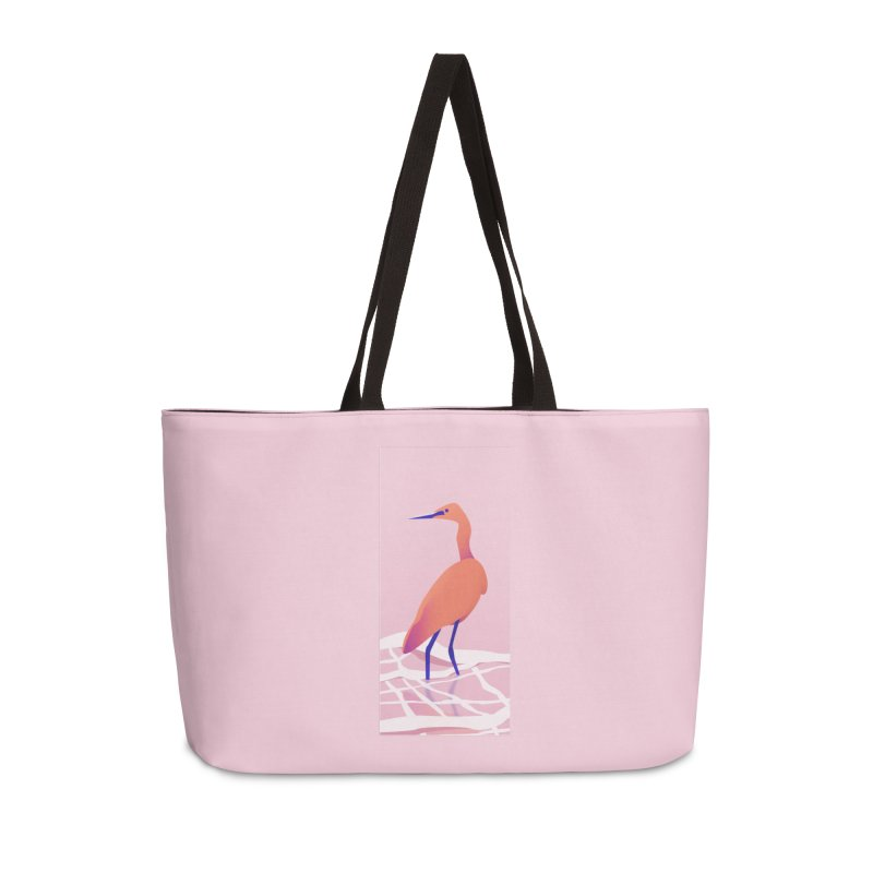 Heron Accessories Weekender Bag Bag by theladyernestember's Artist Shop