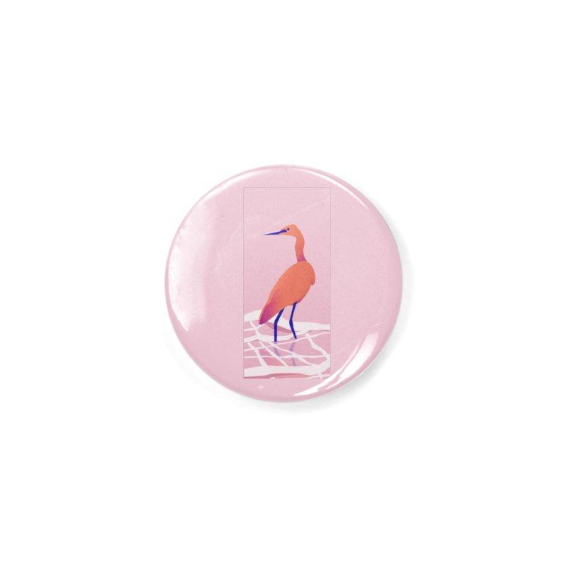 Heron Accessories Button by theladyernestember's Artist Shop