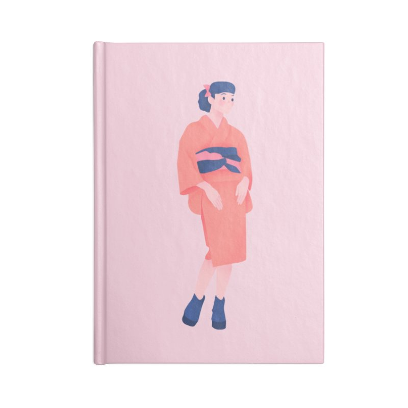 Lady Accessories Lined Journal Notebook by theladyernestember's Artist Shop