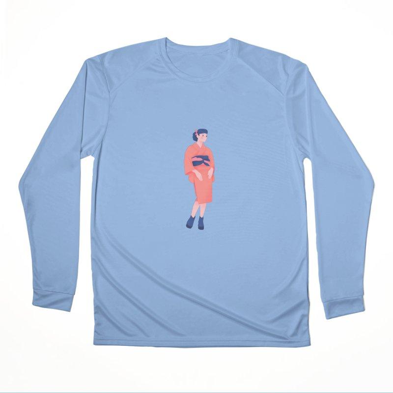 Lady Men's Performance Longsleeve T-Shirt by theladyernestember's Artist Shop