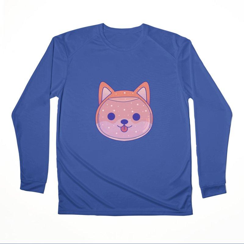 Shiba Inu Dog Men's Performance Longsleeve T-Shirt by theladyernestember's Artist Shop
