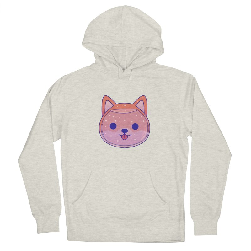 Shiba Inu Dog Men's French Terry Pullover Hoody by theladyernestember's Artist Shop