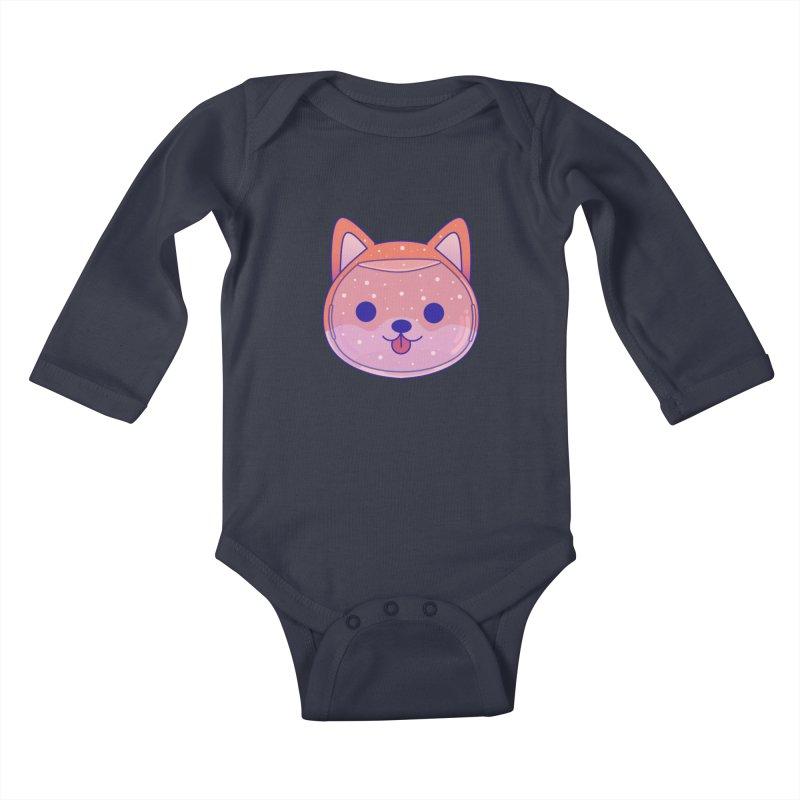 Shiba Inu Dog Kids Baby Longsleeve Bodysuit by theladyernestember's Artist Shop