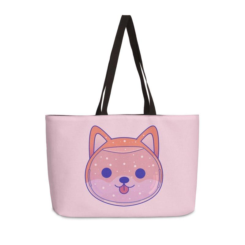 Shiba Inu Dog Accessories Weekender Bag Bag by theladyernestember's Artist Shop