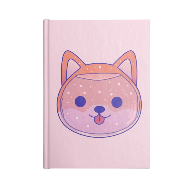 Shiba Inu Dog Accessories Blank Journal Notebook by theladyernestember's Artist Shop