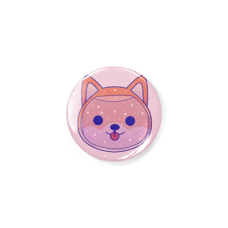 Shiba Inu Dog Accessories Button by theladyernestember's Artist Shop