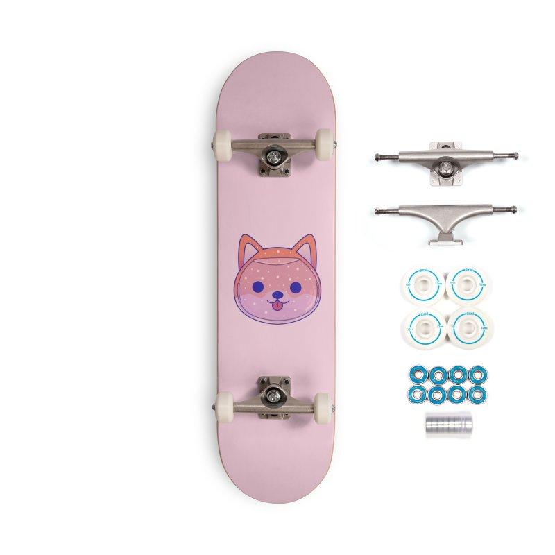 Shiba Inu Dog Accessories Complete - Basic Skateboard by theladyernestember's Artist Shop