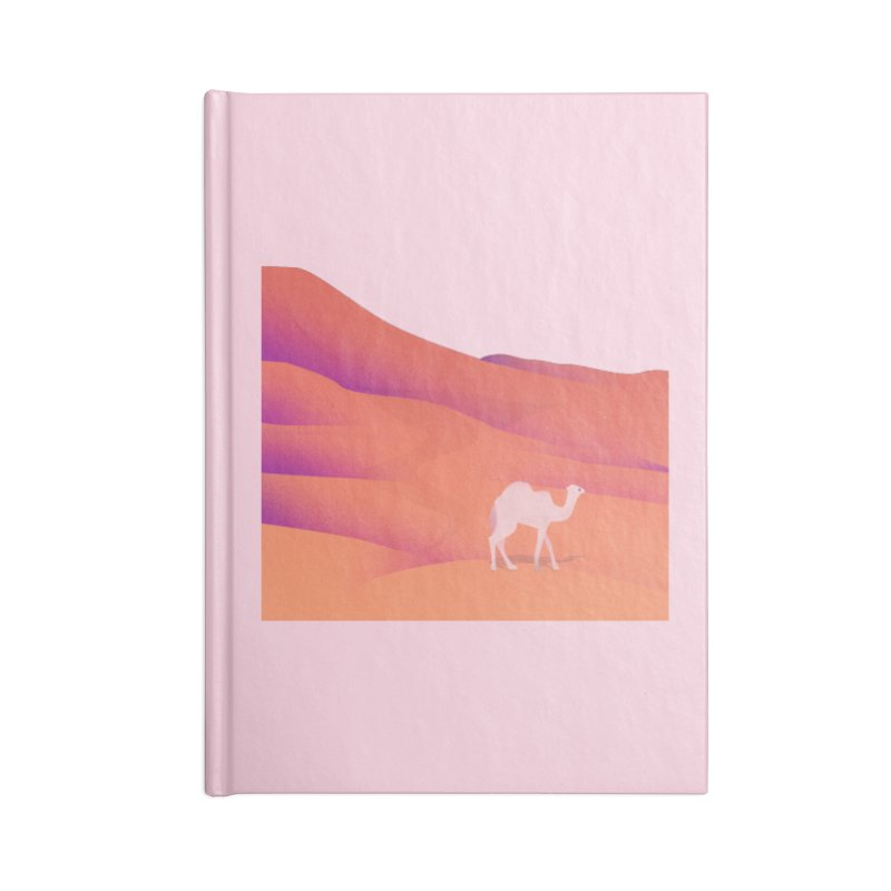 Desert Accessories Blank Journal Notebook by theladyernestember's Artist Shop