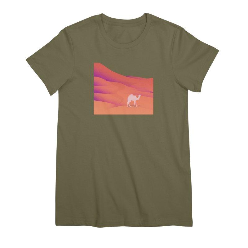 Desert Women's Premium T-Shirt by theladyernestember's Artist Shop