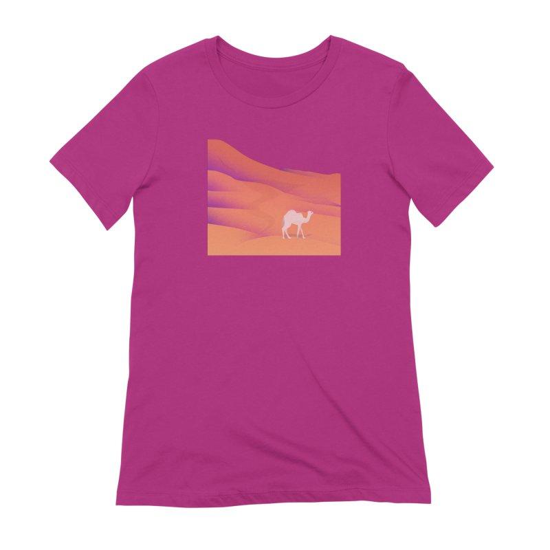 Desert Women's Extra Soft T-Shirt by theladyernestember's Artist Shop