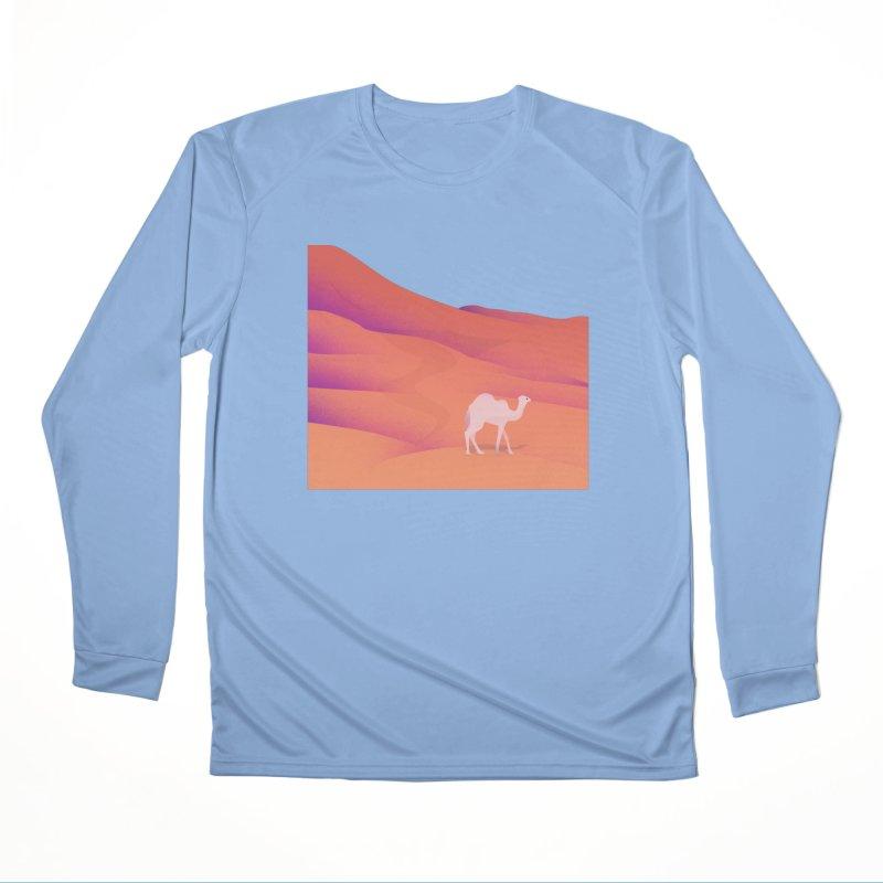 Desert Men's Performance Longsleeve T-Shirt by theladyernestember's Artist Shop
